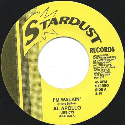 AL APOLLO/GARNET MIMMS, I'M WALKIN'/LOOK AWAY