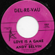ANDY BELVIN, LOVE IS A GAME