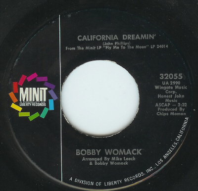 BOBBY WOMACK, CALIFORNIA DREAMING