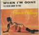 BRENDA HOLLOWAY PIC SLEEVE, WHEN I'M GONE