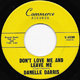 DANELLE DARRIS, DON'T LOVE ME AND LEAVE ME