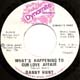 DANNY HUNT, WHAT'S HAPPENING TO OUR LOVE AFFAIR