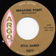 ETTA JAMES , BREAKING POINT
