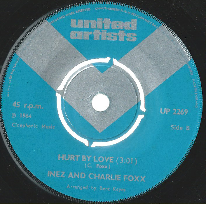 INEZ & CHARLIE FOXX UK, HURT BY LOVE/MOCKING BIRD