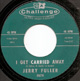 Northern Soul, Rare Soul - JERRY FULLER GREEN ISSUE, I GET CARRIED AWAY