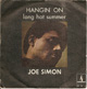 JOE SIMON SPANISH PIC SLEEVE, HANGIN' ON