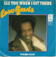 LOU RAWLS DUTCH PIC SLEEVE, SEE YOU WHEN I GIT THERE