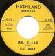 RAY AGEE, MR CLEAN