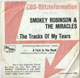 SMOKEY ROBINSON & MIRACLES GERMAN PIC SLEEVE, THE TRACKS OF MY TEARS
