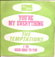 TEMPTATIONS FRENCH PROMO SLEEVE, YOU'RE MY EVERYTHING