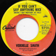 VERDELLE SMITH US USED, IF YOU CAN'T SAY ANYTHING NICE (DON'T SAY NOTHIN' AT ALL)