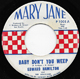 Northern Soul, Rare Soul - EDWARD HAMILTON, BABY DON'T YOU WEEP