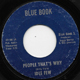 Northern Soul, Rare Soul - IDLE FEW BLUE ISSUE, PEOPLE THAT'S WHY