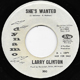 Northern Soul, Rare Soul - LARRY CLINTON W/D, SHE'S WANTED
