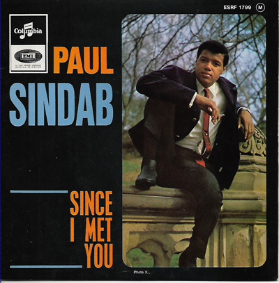 PAUL SINDAB FRENCH PICTURE SLEEVE EP, SINCE I MET YOU