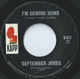 Northern Soul, Rare Soul - SEPTEMBER JONES ISSUE, I'M COMING HOME