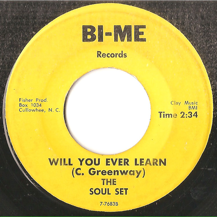 SOUL SET, WILL YOU EVER LEARN